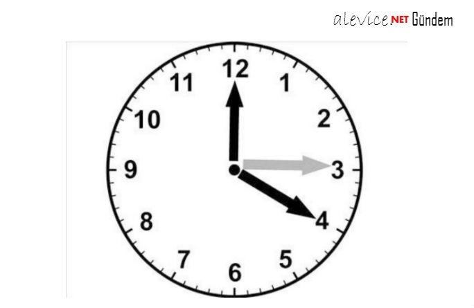 Saatleri İleri Alınacak!