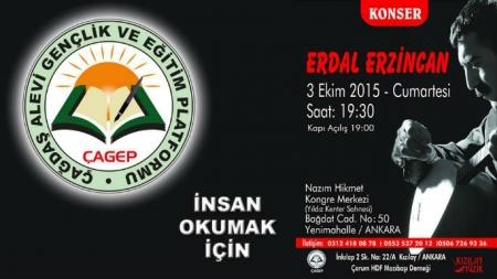 Erdal Erzincan Konseri – ÇAGEP