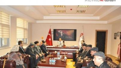 5 İlden Alevi Dedelerimiz Tunceli Üniversitesi'ni Ziyaret Ettiler