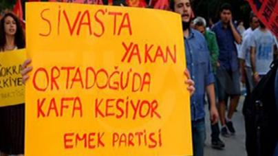 """Ankara'da """"Madımak"""""""