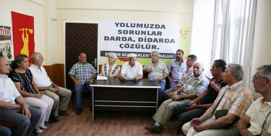 Tunceli Cem Evi Başkanı Dar'a Çağrıldı