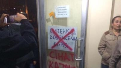 Şahkulu Sultan Dergahı Kapısına Yazılan Yazı Meclise Taşındı