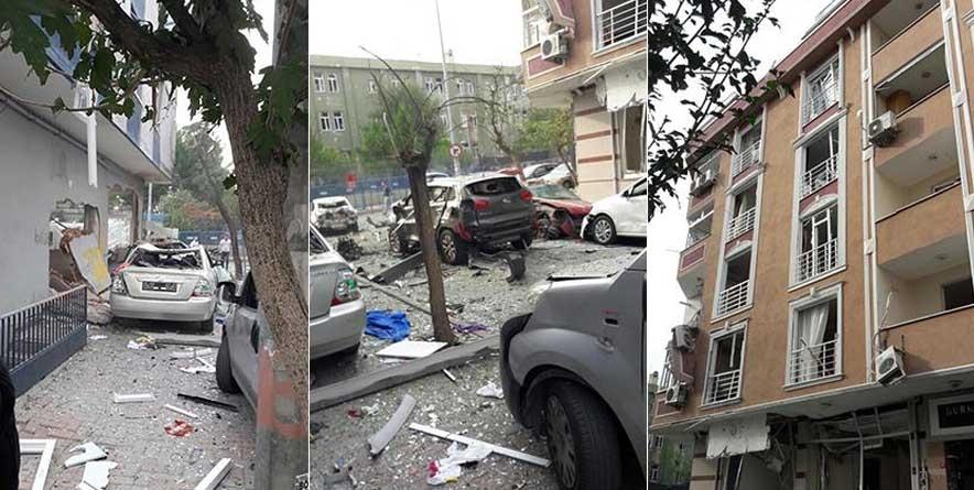 İstanbul'da Bombalı Motosikletli Terör Saldırısı Meydana Geldi