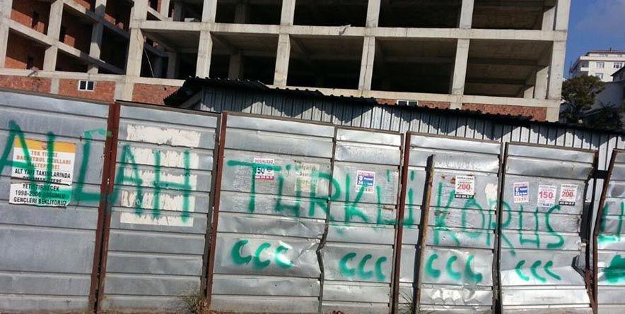 Cemevi'ne Yapılan Irkçı Saldırıya Büyük Tepki