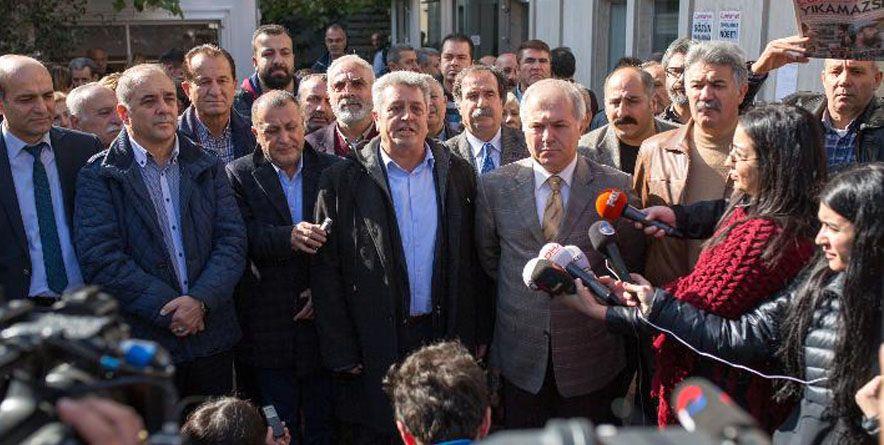 Alevi Derneklerinden Cumhuriyet Gazetesi'ne Destek Ziyareti
