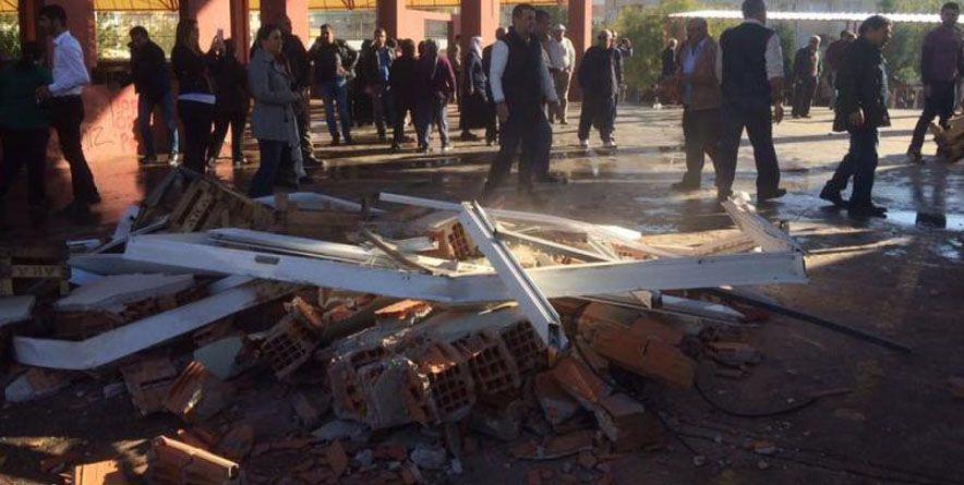 Bayraklı Cemevi'ne Ait Düğün Salonu Şafak Baskınıyla Yıkıldı | İzmir