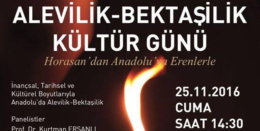 """Ondokuz Mayıs Üni. """"Alevilik-Bektaşilik Kültür Günü""""   Samsun"""