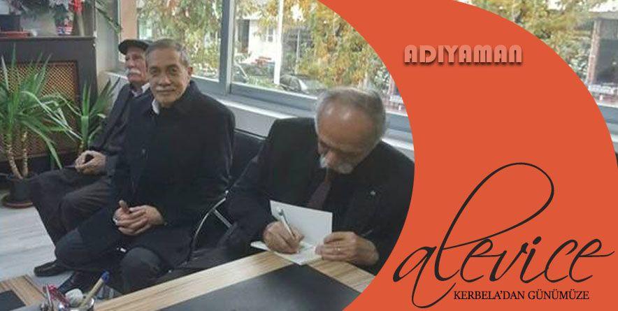 Alevi Kanaat Önderinden Başkan Özdemir'i Ziyaret   Adıyaman