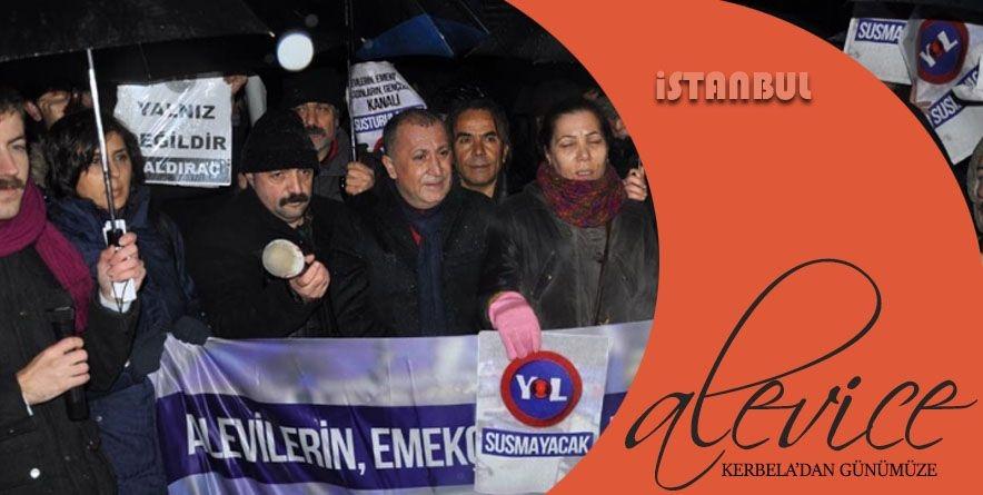 "Aleviler ""Yol Tv Susturulamaz"" | İstanbul"
