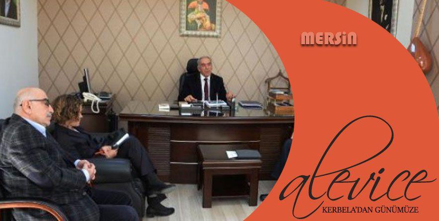 ABD Konsolos Vekili, Alevi Derneği ve Cemevini Ziyaret etti | Mersin