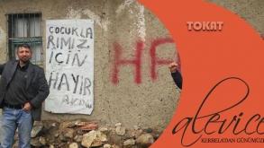 Hayır! Diyen Alevi Köyünde Yol ve PTT Çalışmaları Durduruldu