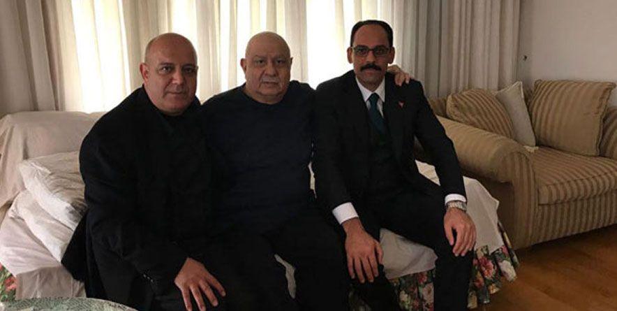 Cumhurbaşkanlığı Sözcüsü İbrahim Kalın Arif Sağ'ı Ziyaret Etti