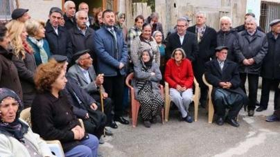 CHP Genel Başkan Yardımcısı Ağbaba, Evleri İşaretlenen Aileleri Ziyaret Etti