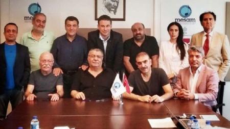MESAM'da Yeniden Yönetime Seçilen Arif Sağ ve Ekibi İlk Kez Toplandı