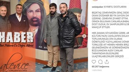 Sedat Peker Beşiktaş Cemevi'nde Ahkam Kesti
