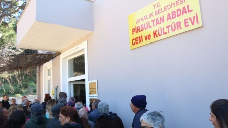 Pir Sultan Abdal Kültür Derneği Ayvalık Şubesi ve Cemevi  Açıldı | Balıkesir